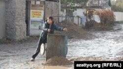 Шымкенттегі Қайнарбұлақ саяжайы. 4 қараша 2014 жыл.