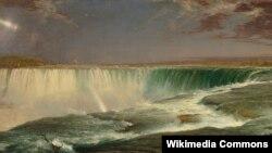Фрэдэрык Эдвін Чэрч, «Ніягарскі вадаспад» (1857)