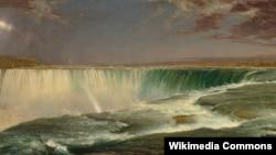Фредерик Эдвин Чёрч. Ниагарский водопад. 1857