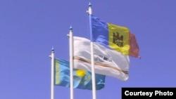 Қазақстан, Ascom-Grup S.A компаниясының және Молдованың туы.