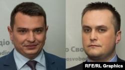 Директор НАБУ Артем Ситник і керівник САП Назар Холодницький