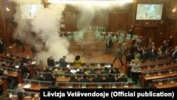 Seanca e 8 tetorit në Kuvendin e Kosovës.