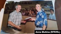 Рыжов на вручении красного диплома