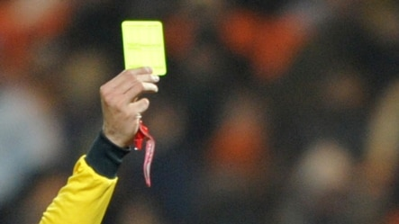 Football -- Yellow card