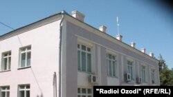 Бинои ҳукумати ноҳияи Вахш.