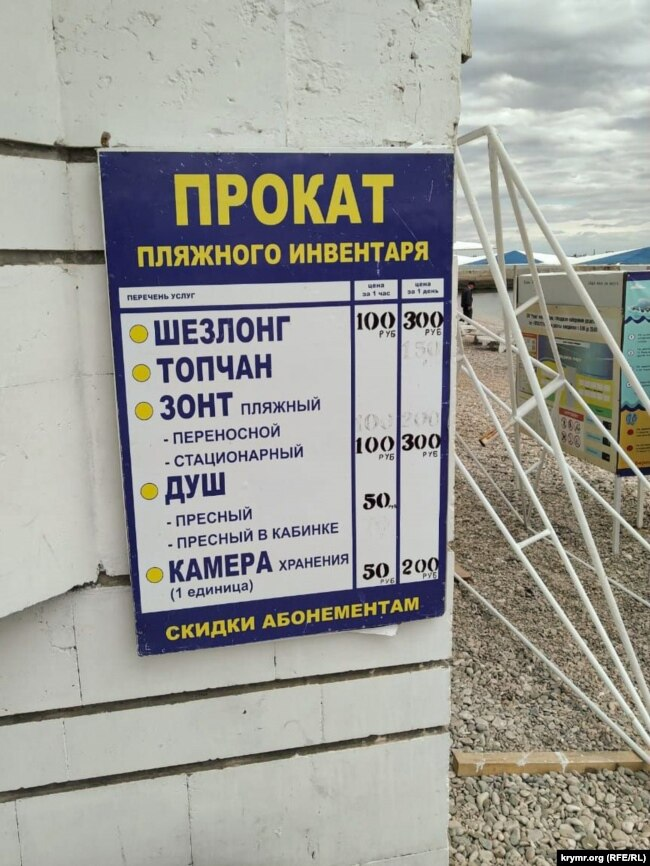 Пляж «Камушки» Феодосия