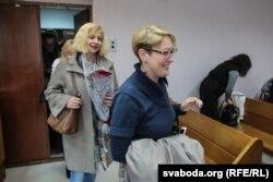 Ірына Халіп і Эніра Браніцкая прыйшлі падтрымаць Галіну Бахціну