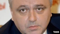 Игорь Гиоргадзе на пресс-конференции в Москве