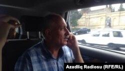 Mehman Əliyev həbsxanadan evə gedərkən-11092017