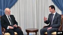 Presidenti sirian, Bashar al-Assad është takuar me kryediplomatin irakian, Ibrahim al-Jaafari