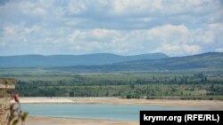 Вид на Тайганское водохранилище