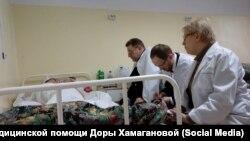 В больницу к Ирине Раменской пришли посетители