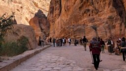 Jordan -- Petra, generic view, for Travel Diary program (#travel_diary), undated