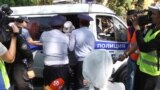 Kazakh Police Break Up Opposition Rallies, Detain Dozens
