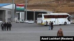 گذرگاه مرزی حاج عمران بین ایران و اقلیم کردستان.