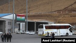 Haj Omran border crossing between Iran and Iraqi Kurdistan, October 3, 2017