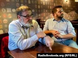 Кшиштоф Становський (ліворуч)