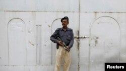 Policajac u Karačiju, ilustrativna fotografija