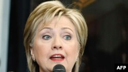 U.S. Secretary of State Clinton said the new U.S. stance will be introduced in Germany.