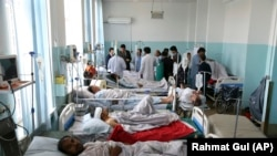 افغانستان: کابل کې د چادونې ژوبلو کسانو درملنه روانه ده. ۲۰۱۹ ز کال د جولای لومړۍ نېټه