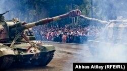 Bakıda hərbi parad - 26 iyun 2013