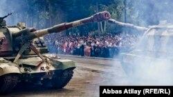 Bakıda hərbi parad. 2013