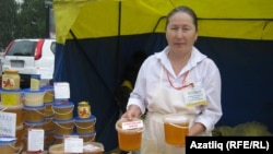 Башкортстанның Тәтешле районы умартачысы Нәсия Ярхамова