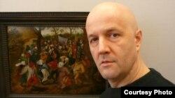 Македонскиот сликар наивец Васко Ристовски.