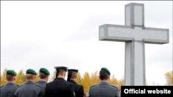 Открытие кладбища немецких военнослужащих в поселке Беседино Курской области (www.bmvg.de)