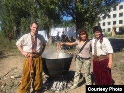 Фото со специального тактического тренинга памяти Вячеслава Галвы, который организовала его жена Элина Галва