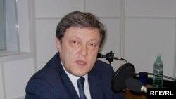 Лидер российской демократической партии «Яблоко» Григорий Явлинский в студии Радио Свобода