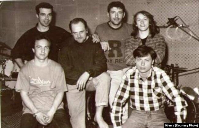 «Крама». Падчас запісу альбому ў Мазыры, 1993 год