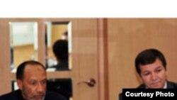 Муҳаммад Бин Ҳаммом, раиси Конфедеросиюни футболи Осиё ва Валерий Турсунов, ноиби раиси Федеросиюни футболи Тоҷикистон