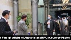 حنیف اتمر وزیر خارجه افغانستان در عربستان سعودی