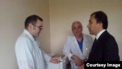 Имомиддин Сатторов дар бемористони рақами 7