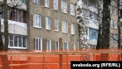 Новы будынак апынецца проста пад вокнамі ў жыхароў