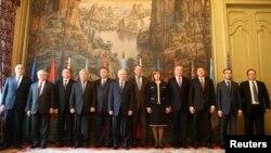 ТМД елдерінің сыртқы істер министрлері бас қосқан жиын. Мәскеу, 4 сәуір 2014 жыл