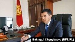 Узарбек Жылкыбаев.