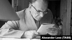 Писатель Константин Паустовский, 1959 год