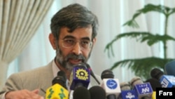 Iranian spokesman Gholamhussein Elham (file photo)
