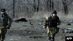 Debaltseve şəhərində yaraqlılar