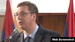 Zëvendëskryeministri i Serbisë, Aleksandar Vuçiq.