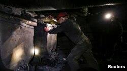 Угольная шахта в Донбассе