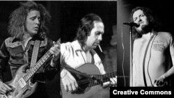 از چپ به راست: جک بروس، پاکو دلوسیا و جو کاکر