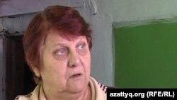 Галина Коржикова, жительница села Саркан Алматинской области, вступившая в конфликт с депутатом. 5 октября, 2010 года.