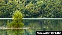 Azerbaijan – Nohur lake resort center in Gabala region – 14Aug2013