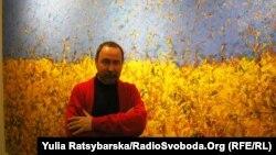 Валерій Сосна, дніпропетровський художник і його роботи, присвячені Майдану