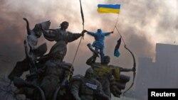 Майдан Независимости, Киев, 20 февраля 2014 года