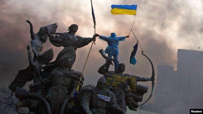 Майдан Незалежності, Київ, 20 лютого 2014 року