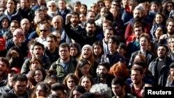 Բողոքի ցույց Ստամբուլում, արխիվ